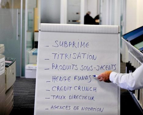 Traduction technique financière pour tous de la crise mondiale